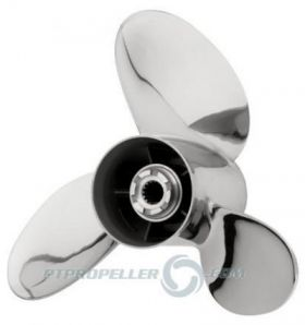 PowerTech! LFS3 Stainless Propellers Mercury