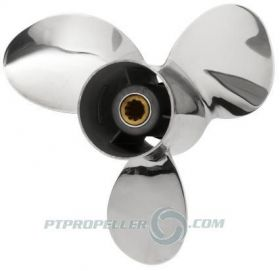 PowerTech! TLR3 Stainless Propeller Tohatsu
