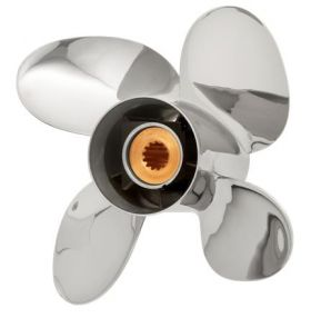 PowerTech! REB4 Stainless Propeller Mercury