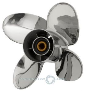 PowerTech! PFS4 Stainless Propeller Mercury