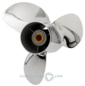 PowerTech! SRS3 Stainless Propeller Mercury