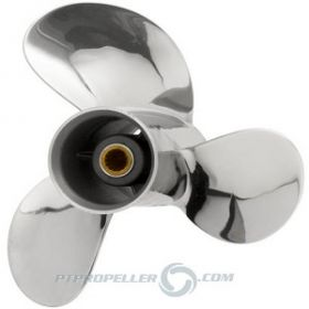 PowerTech! SRT3 Stainless Propeller Tohatsu